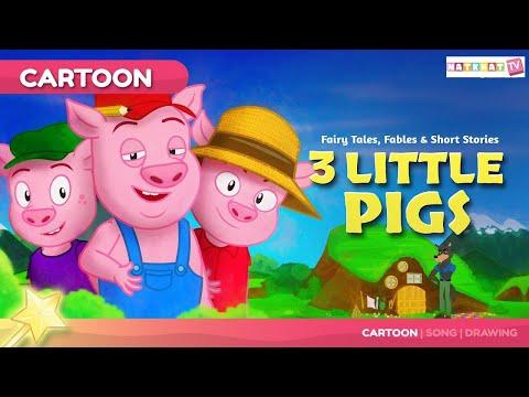 3 Little Piglets I Tale in Hindi I बच्चों की नयी हिंदी कहानियाँ I