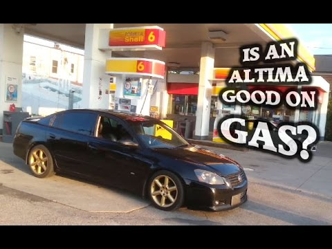 Fuel Economy MPG Test   Altima 3.5L V6