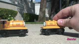 Bill & Ben - Thomas The Tank Engine Wooden Railway Review - Character Fridays - Fisher Price Train