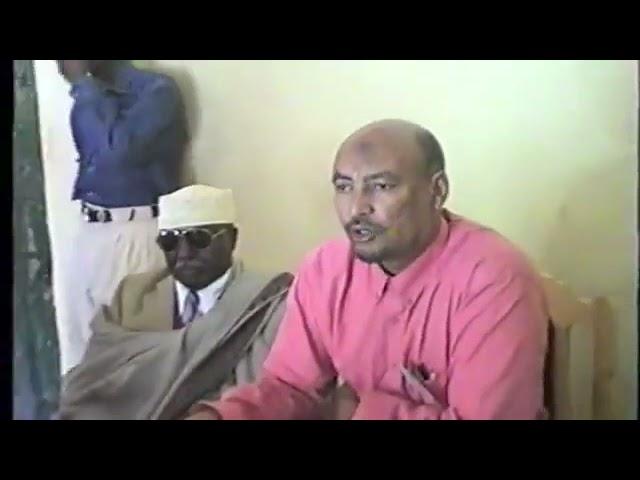Dib U Milicso:- Guddoomiyaha Xisbiga ucid Eng Faysal Cali Waraabe Oo Ka Hadlaya Isbedlka Geeska 2001