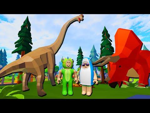 กบหลามสร้างสวนสัตว์ไดโนเสาร์ - Roblox