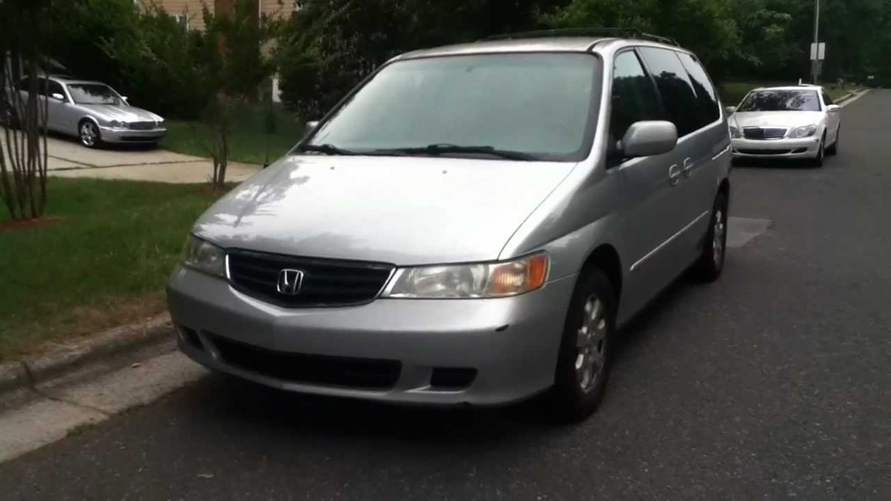 2003 Honda Odyssey EX L (with Navigation U0026 RES) Tour   YouTube