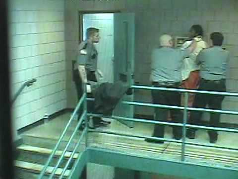 Surveillance video: Scuffle between guards, inmate at Monroe County Correctional Facility