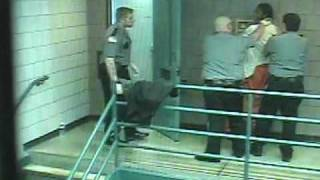 Surveillance video: Scuffle between guards, inmate at Monroe County Correctional Facility thumbnail