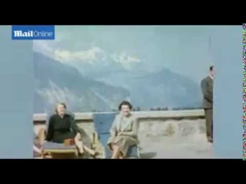 [RAW] Rare footage of Hitler and Eva Braun in their private residence