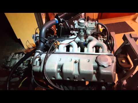 Audi F103. Uruchomienie silnika po remoncie.