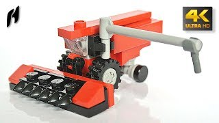 Microscale Lego Combine Harvester (MOC)