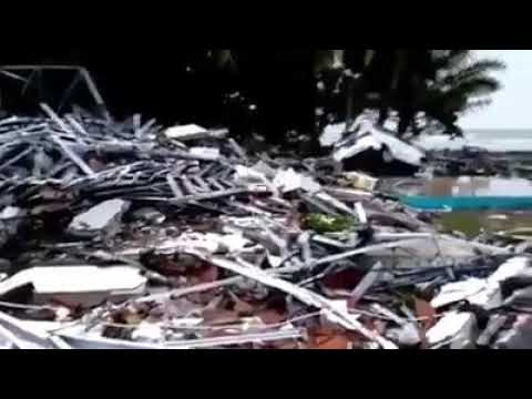 Kejadian Tsunami Baru Terjadi 23/12/2018 (Di Selat Sunda Indonesia),