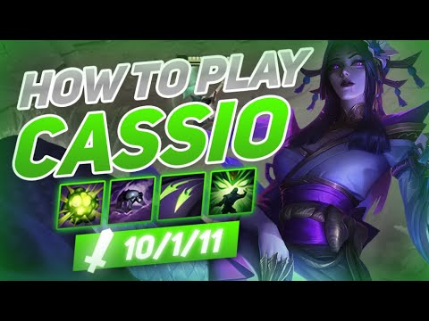 HOW TO PLAY CASSIOPEIA SEASON 10 | Build & Runes | Season 10 Cassiopeia guide | League of Legends