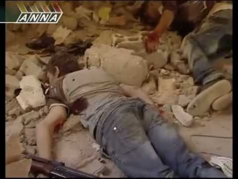 Raw Video: Two suicide bombings in Aleppo/Syria carried out by the NATO Foreign FSA Terrorists
