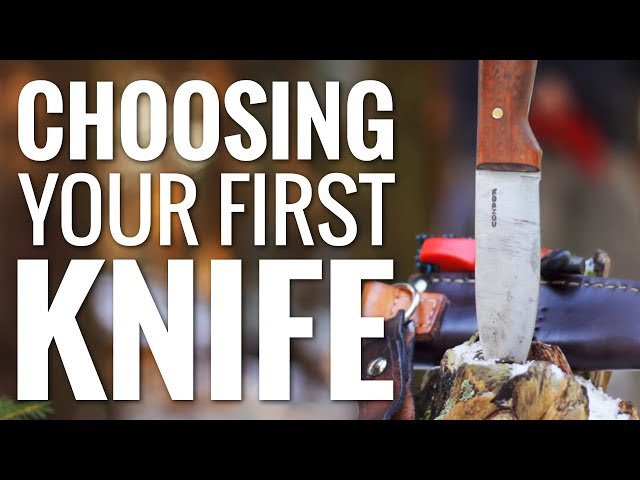 How to Choose your First Camping or Bushcraft Knife