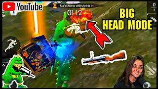 NEW BIG HEAD MODE || PLAYING WITH M79 || BEST GAME EVER || MUST MATCH