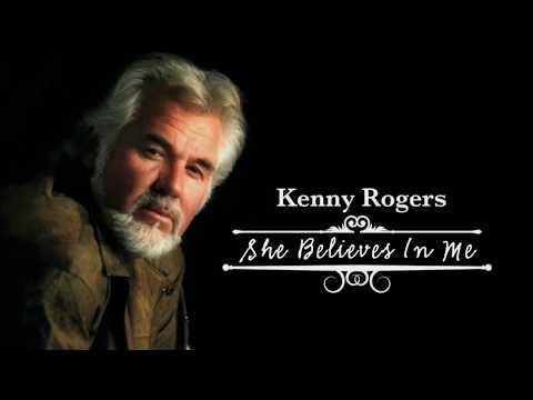 She Believes In Me - In the style of Kenny Rogers [♪Karaoke-Videoke] (HD)