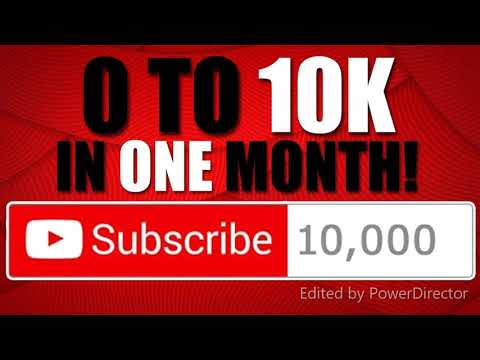how to grow on youtube (i gained 10k doing this)