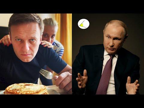 Ложь Путина в интервью ТАСС. Навальный - самый бедный человек в России. Как прошел марш Немцова?