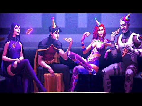 Injustice 2 - STARFIRE SAD ENDING (Last of the Teen Titans)