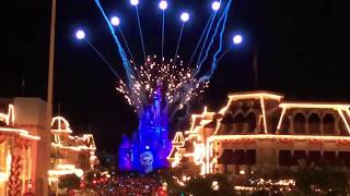 🔴Once Upon a Time & Happily Ever After Fireworks. Wishful Wednesday Magic Kingdom thumbnail