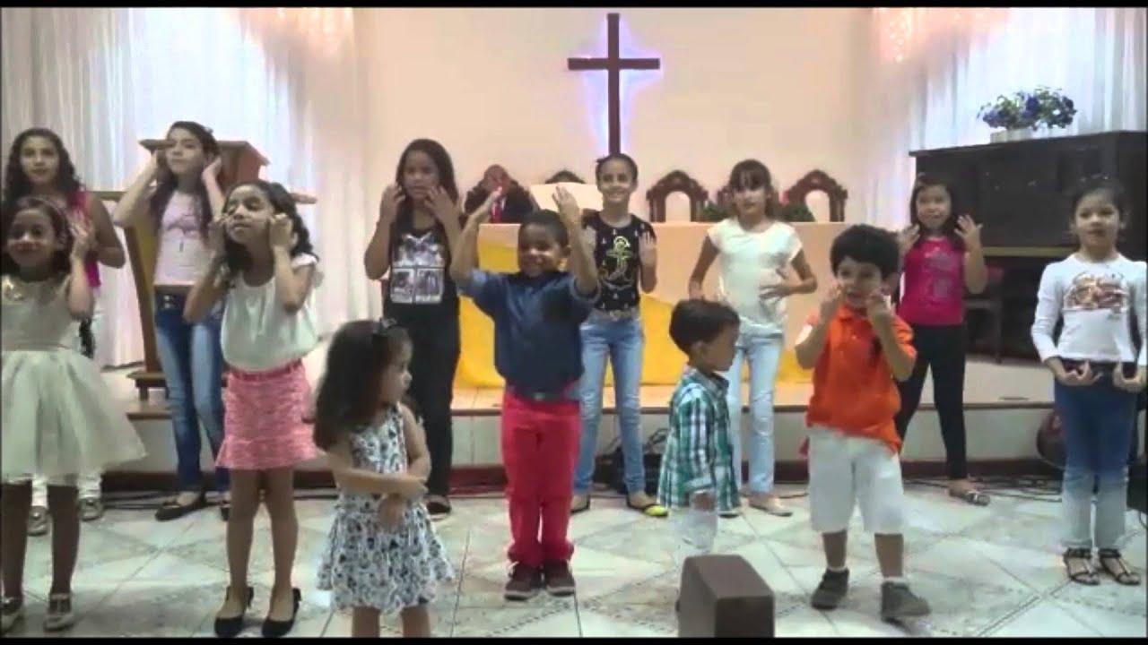 Coreografia Festa Na Estrebaria Kairos Youtube