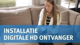 Installatie Digitale HD-ontvanger