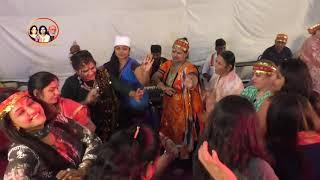 Neha Udasi and Vijay Wadhwa - Mata Murade puri karde - Mata ki Chowki at Hari Naam Mandir