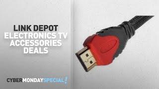 Walmart Top Cyber Monday Link Depot Electronics TV Accessories Deals: Link Depot Gold-Plated
