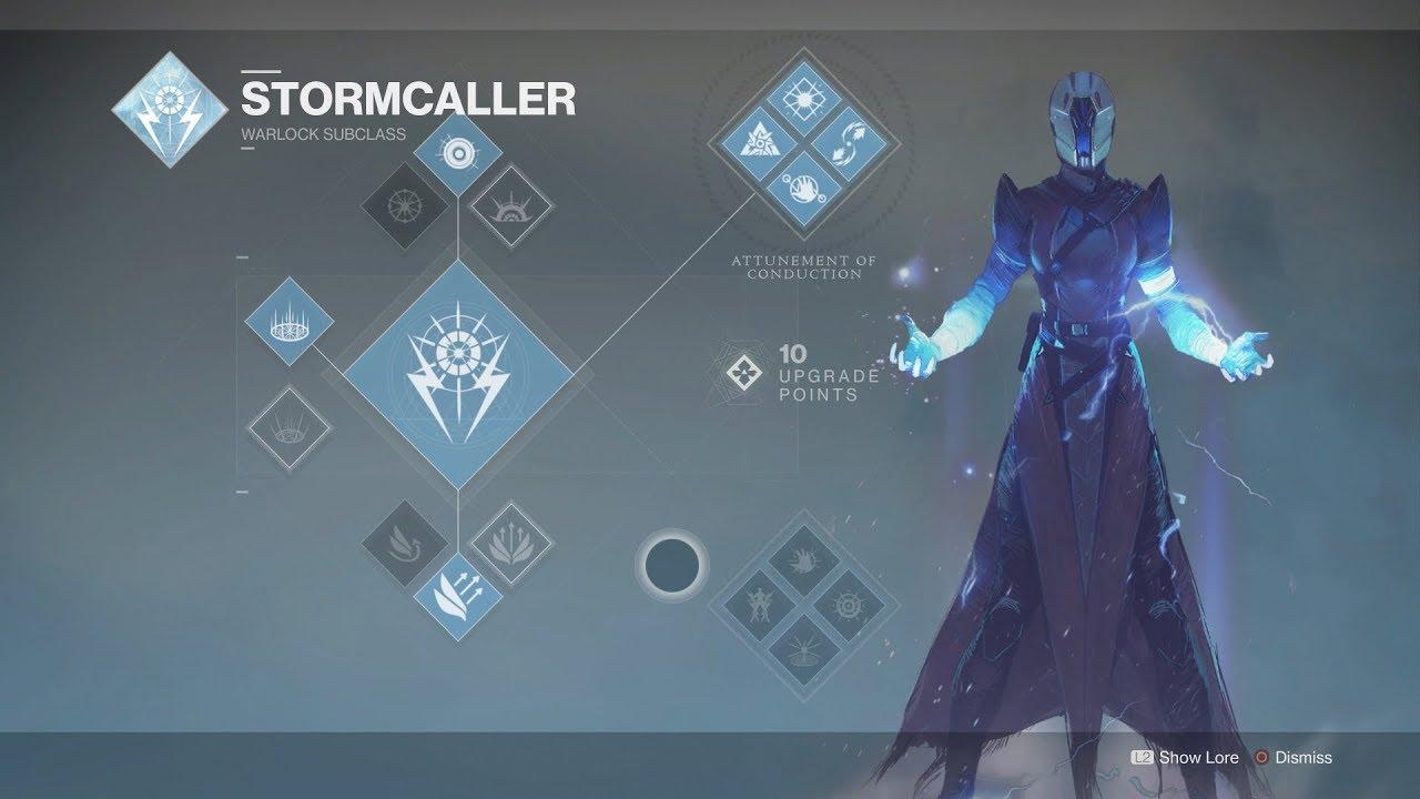 Destiny 2 stormcaller comentary borealis gameplay youtube - Warlock stormcaller ...