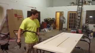How To Stain and Varnish a New Interior Door