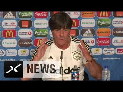 "Joachim Löw erklärt das ""Hosengate"" | Deutschland - Polen | EM 2016"