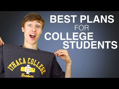 Top 5 Best Cell Phone Plans for College Students!