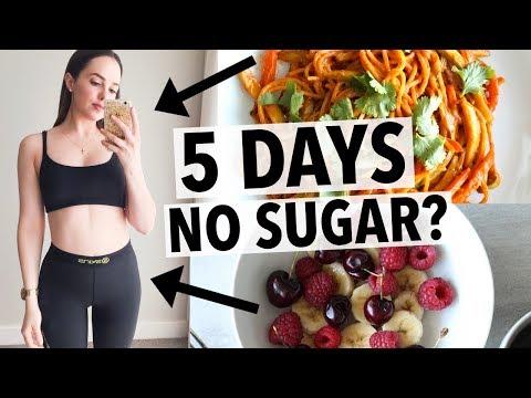 5 DAYS NO SUGAR CHALLENGE   HOW I QUIT SUGAR + HEALTHY RECIPE IDEAS!