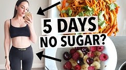 5 DAYS NO SUGAR CHALLENGE | HOW I QUIT SUGAR + HEALTHY RECIPE IDEAS!