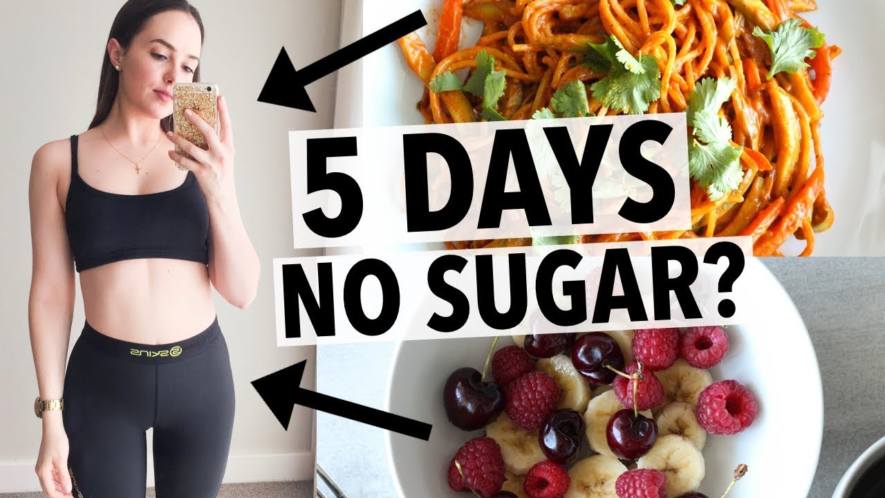5 DAYS NO SUGAR CHALLENGE | HOW I QUIT SUGAR + HEALTHY RECIPE IDEAS!