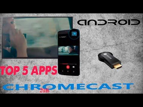 Las 5 mejores aplicaciones Chromecast para ver Futbol , Cine y series HD Full 2016