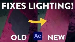 BIG Update To The Content Aware Fill Tool | Lighting Correction | After Effects 2020