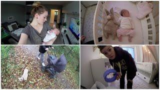 FAMILY VLOG│Mama Alltag, alleine mit Baby, Herbst Spaziergang