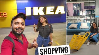Our 1st Experience in IKEA NAVI MUMBAI || Complete Shopping Tour & Details | Furniture, Kitchen etc