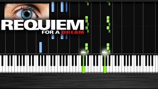 Repeat youtube video Requiem for a Dream Piano - Piano Tutorial by PlutaX  Synthesia