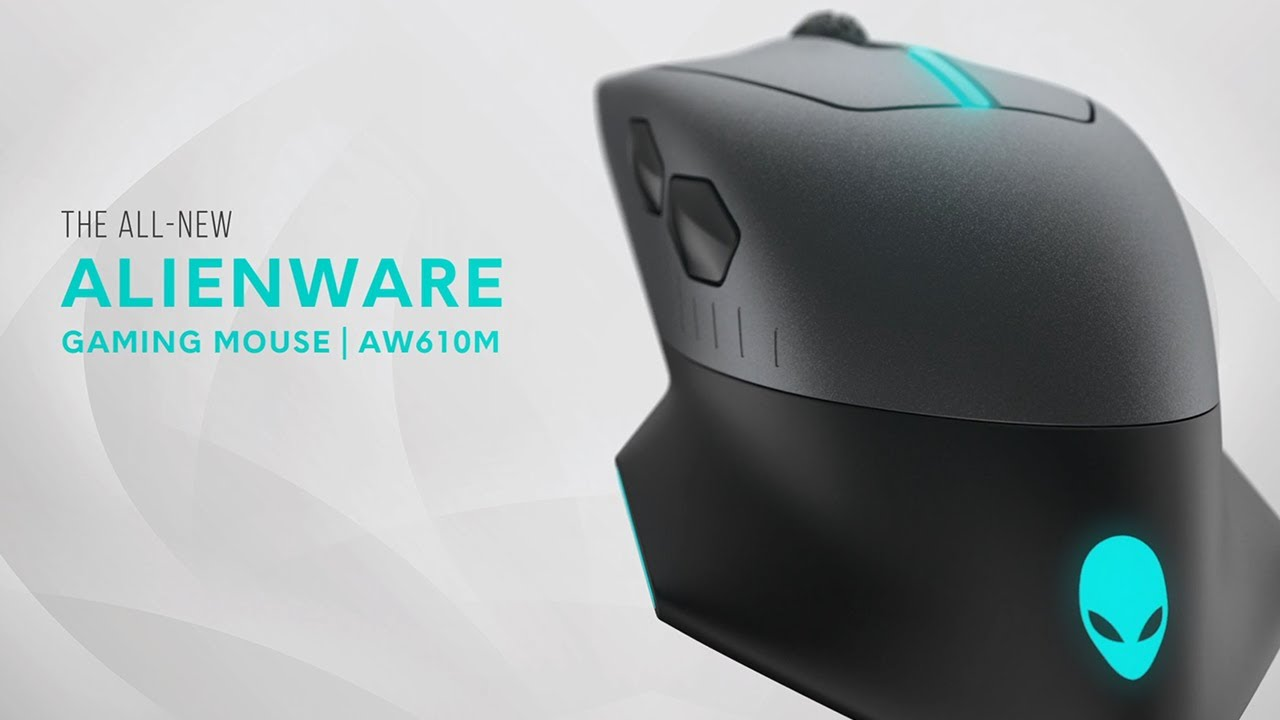 new alienware wired wireless gaming mouse aw610m youtube. Black Bedroom Furniture Sets. Home Design Ideas