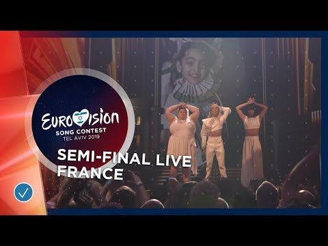 France - LIVE - Bilal Hassani - Roi - First Semi-Final - Eur