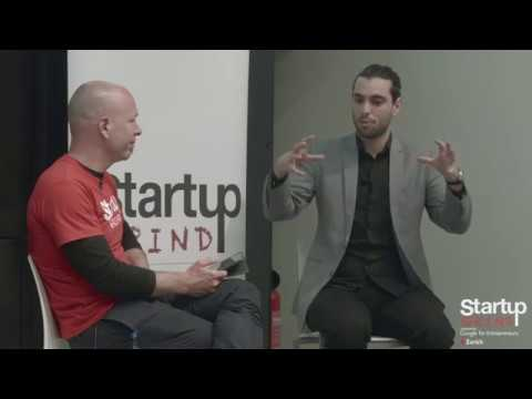 Lova Kremer (Why Not 3) at Startup Grind Zurich, w/ David Butler