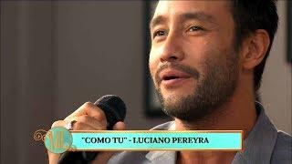 """Video Luciano Pereyra presentó su nueva cancion """"Como tú"""" download MP3, 3GP, MP4, WEBM, AVI, FLV Juni 2018"""