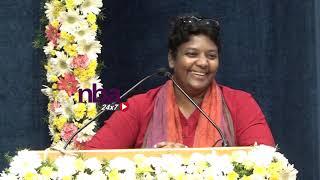 Shalini | கலைஞர் வீர வணக்கம் |5வது படித்தா நல்லது செய்ய முடியாதா | nba 24x7