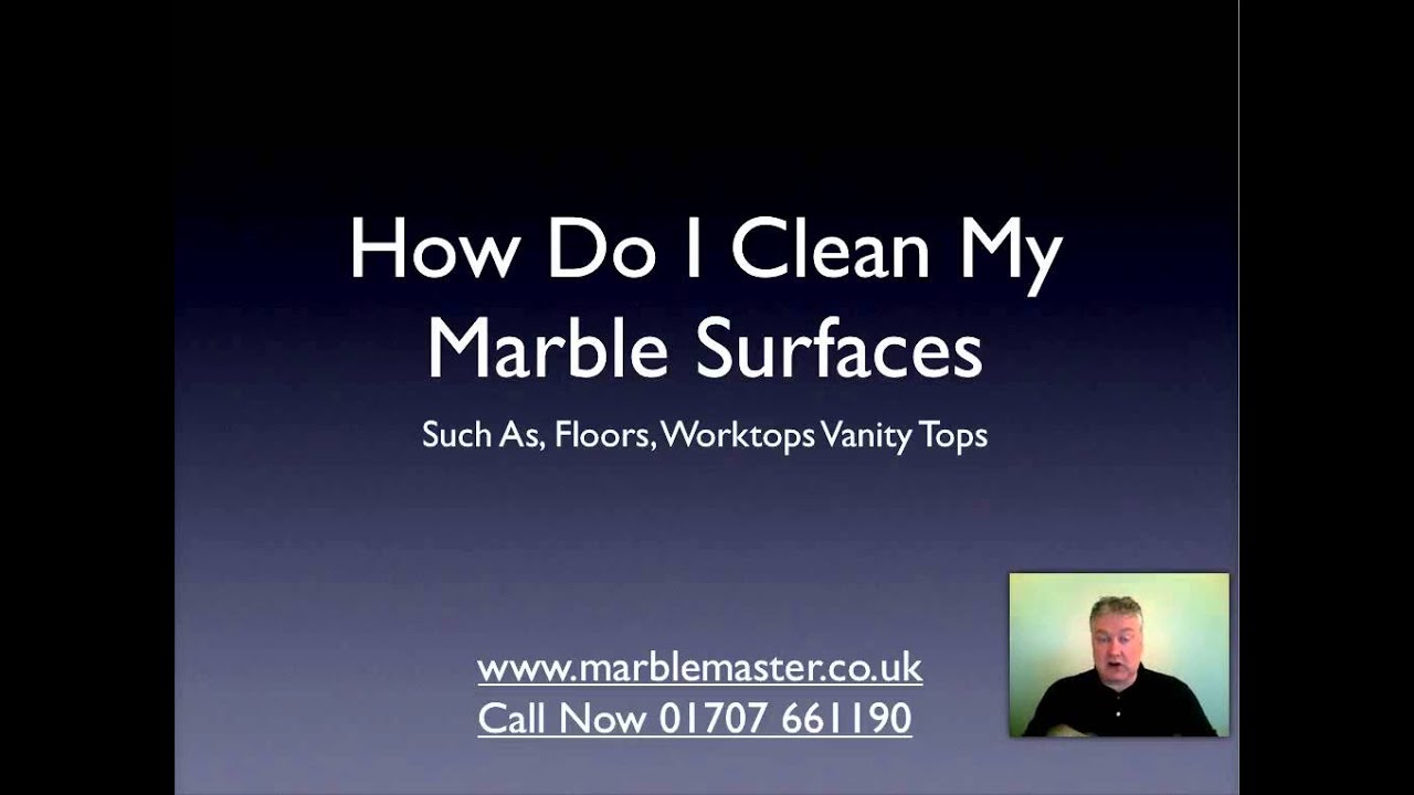 How To Clean Marble Tiles Properly Youtube