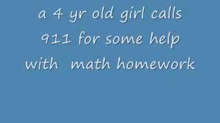 911'i arayan çocuk