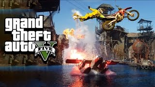 WORST STUNTS EVER - GTA 5 Gameplay