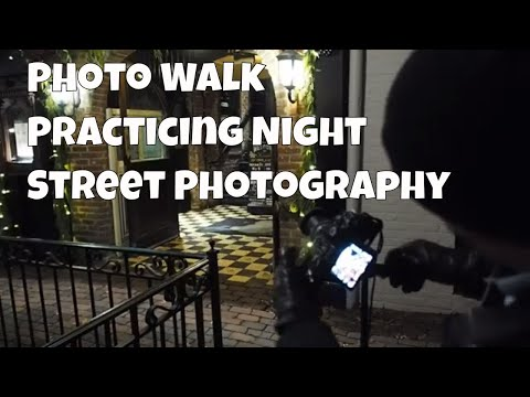 Photo Walk: Practicing night photography and long exposures. ep.105