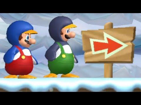 New Super Mario Bros. Wii Co-op Walkthrough - World 3 (All Star Coins)