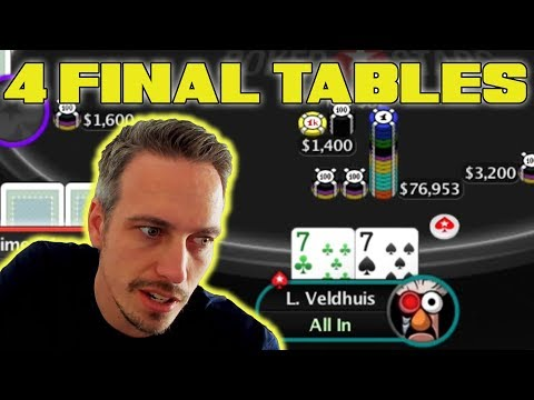 CRAZY Bounty Streak And 4 Final Tables!