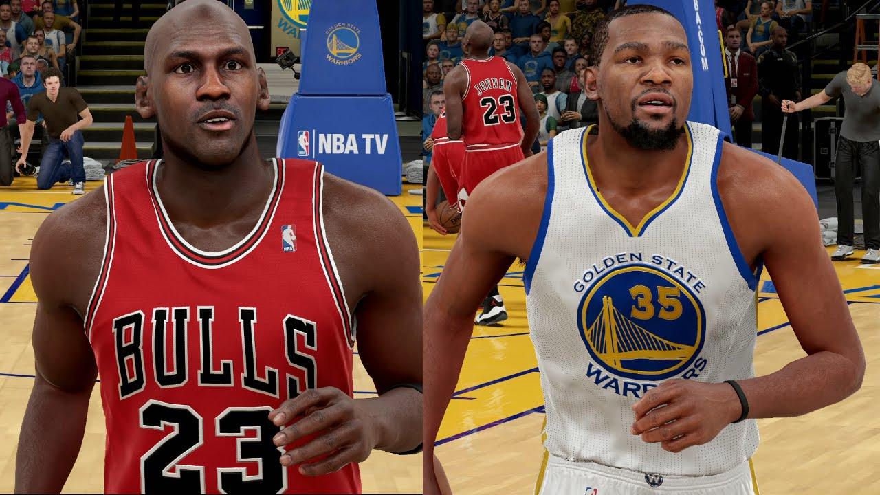 add7ec98abff Michael Jordan   The 1996 Bulls Vs. Kevin Durant   The Warriors ...