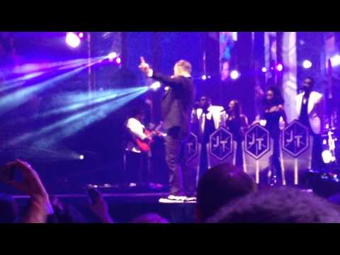 66nnye - Justin Timberlake - St. Paul - Xcel Energy Center - Feb. 9, 2014 - FINALE SONG
